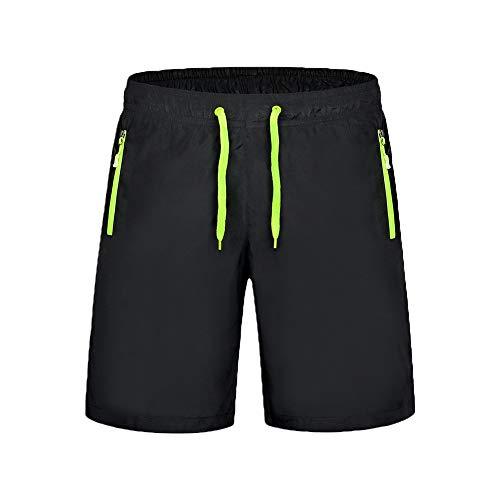 Janjunsi Trunks de Bain Homme - Short Décontracté Mid-Taille Shorts de Surf Pantalons de Plage Coupe Ample Shorts de Sport d'été