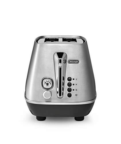 De'Longhi Toaster De'Longhi Distinta X CTI2103.M-Tostadora con 2 ranuras (acero inoxidable)