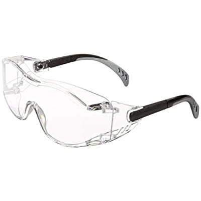 safety goggles over glasses