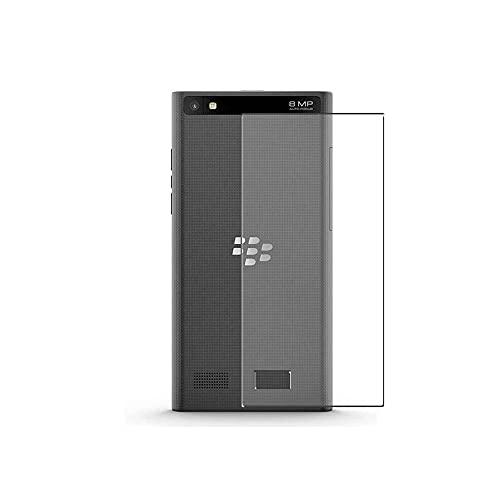Vaxson 2 Stück Rückseite Schutzfolie, kompatibel mit BlackBerry Leap STR100−2, Backcover Skin TPU Folie [nicht Panzerglas/nicht Front Bildschirmschutzfolie]