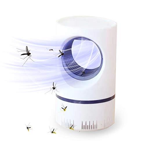 N\W Lámpara Antimosquitos Eléctrico, lampara antimosquitos electrico,LED Mosquito Lámpara Trampa, antimosquitos,lampara antimosquitos,Adecuada para Uso en Interiores Oscuros (Large)