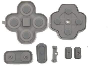 Kit de almohadillas adhesivas de goma conductiva de silicona para Nintendo 3DS XL nuevo 3DS LL de repuesto