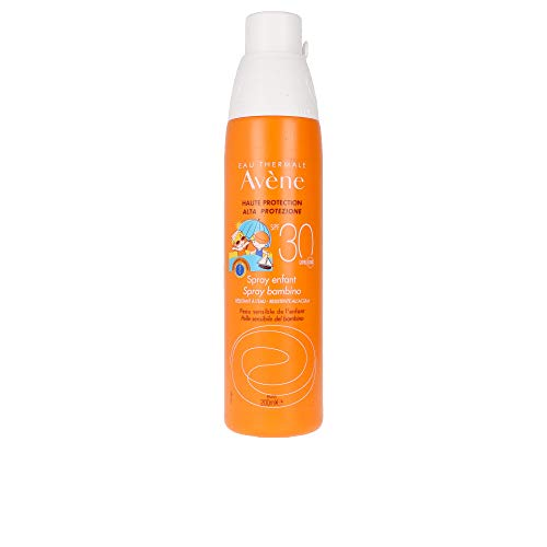 Avène Kinder-Sonnenspray SPF30, Schutz für empfindliche Babyhaut, 200ml