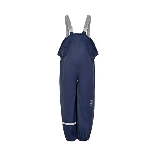 Color Kids Premium Regenhose - Recycled PU - Dress Blues-110