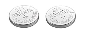 2 Renata 371 SR920SW Silver Oxide Zero Mercury Electronic Batteries