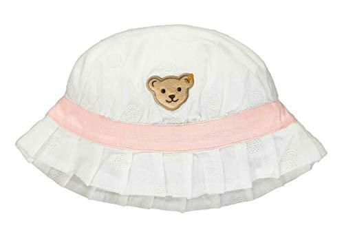 Steiff Mädchen Hut Kappe, Weiß (Bright White 1000), 51 (Herstellergröße: 051)
