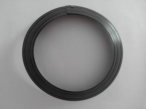 FIREFIX 1761 Ofenrohrrosette für 2 mm Starke Ofenrohre/Rauchrohre in 150-165 mm Durchmesser, für Kaminöfen und Feuerstellen, Senotherm, schwarz, verstellbar