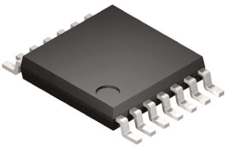Logikgatter, 74VHCT08AMTCX, 4 and, VHCT, Buffer 8mA 14-Pin TSSOP 2 Nein x 50 Stück