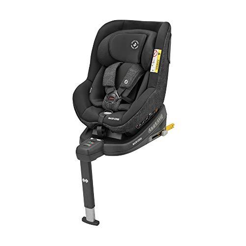 Maxi-Cosi Beryl 'Nomad Black' R44/04 Isofix Kinderautositz Gruppe 0/1/2, 0 - 25 kg, von Geburt bis 7 Jahre, in Rückwärts- und Fahrtrichtung