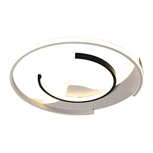 ZWZCON Forme ronde Simplicité Salon Etudier Plafonniers Économie d'énergie Économie d'énergie Réglable Three-Color Diming Ultra-mince LED Plafonnier Plafonnier Intérieur Enfants Chambre Lampes de lumi