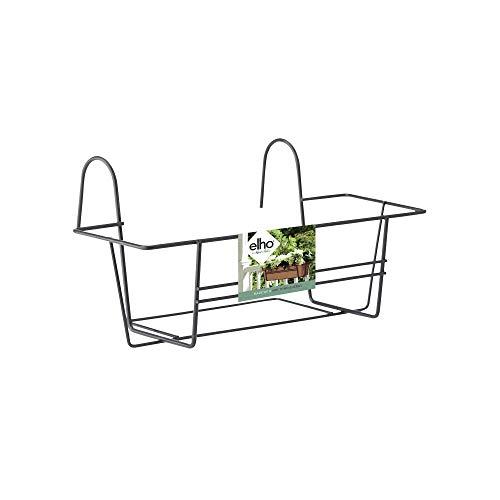 Elho Green Basics Balkonkasten Gestell 50 - Anthrazit - Draußen & Balkon - L 25.9 x W 50 x H 20 cm
