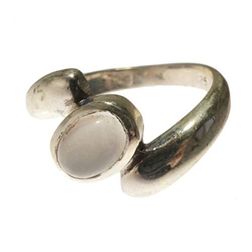 [KRISHNA YUKATAN] シルバーリング 指輪 天然石 パワーストーン ムーンストーン アメジスト ガーネット エスニック メンズ レディース ユニセックス シルバー925 B.アメジスト #13
