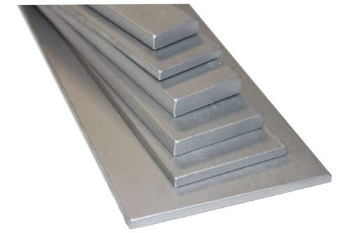 Flachstahl verzinkt S235JR ST37 Länge 1500mm (150cm) von 30x5mm bis 100x10mm 30x5mm