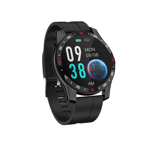 Smartwatch, Orologio contapassi Sportivo Activity Tracker Fitness Uomo Donna Smart Watch, Cardiofrequenzimetro, Cronometro, Smartband Notifiche Messaggi Controller Fotocamera Musicale OCTOWAY
