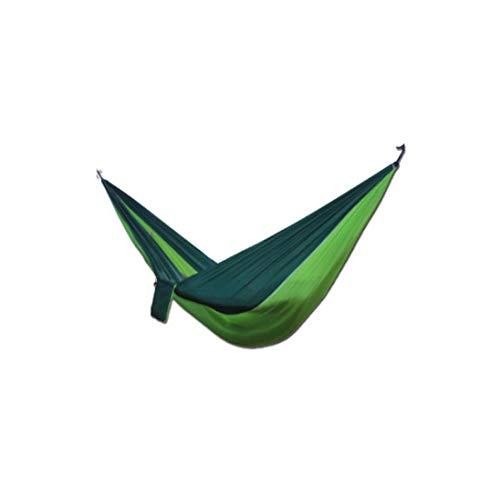 IGEMY- Voyage Camping Hamac, Toile Hamac de Jardin extérieur Camping Portable Voyage Plage Tissu balançoire Lit Green