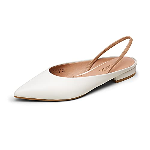 Top 10 best selling list for flat slingback shoes white