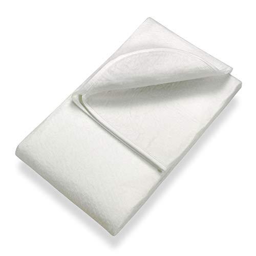 Setex Matratzenunterlage, Polyester, Weiß, 90 x 190 cm