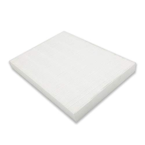 PUREBURG 1-Pack Replacement HEPA Filter Compatible with Sharp FZ-A80HFU Fits Sharp FP-A80UW HEPA with PLASMACLUSTER Air Purifier