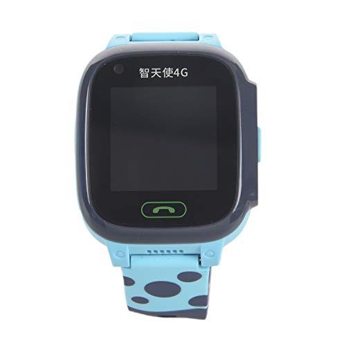 Mogzank Y95 4G Reloj Inteligente para NiiOs TeléFono GPS Reloj Inteligente para NiiOs Prueba de Agua WiFi Antil Perdida Rastreador de UbicacióN SIM Reloj Inteligente HD Video Llamada Azul