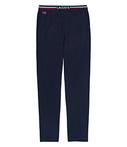 Lacoste 3H3461 Pantalones de Pijama, Marine, L para Hombre