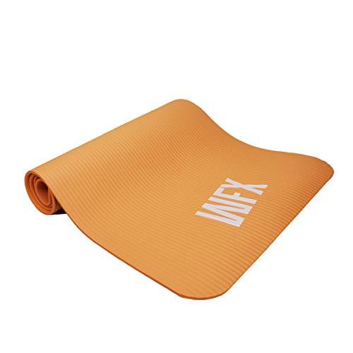 Fitnessmatte Ashanti dicke und weiche Sportmatte, ideal für Pilates, Gymnastik und Yoga.
