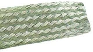 250' Alpha Wire 1231 14 AWG 32 Current Rating Braid Flat FIT Wire Management Cable