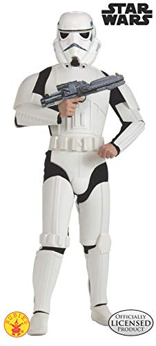 Rubie's Costume Star Wars Deluxe Stormtrooper, White, One Size Costume
