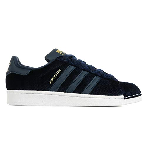 adidas Originals Superstar Sneaker Damen Blau, 39 1/3