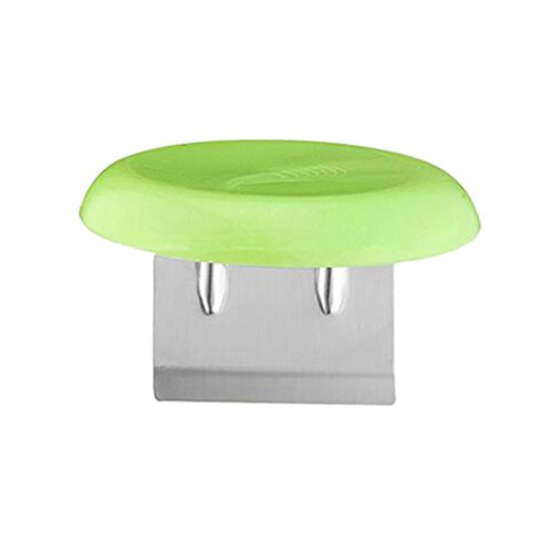 Baoblaze Stainless Steel Kitchen Cutter Cap Helper for Cutting Meat Fish Chicken Tool - Green