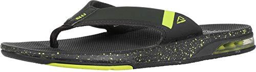 Reef, sandali da uomo infradito con apribottiglie, con supporto per l'arco, (Borsone verde lime), 40 EU