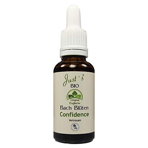 Confidence/Vertrauen Just´s BIO Bachblüten Blend 30ml