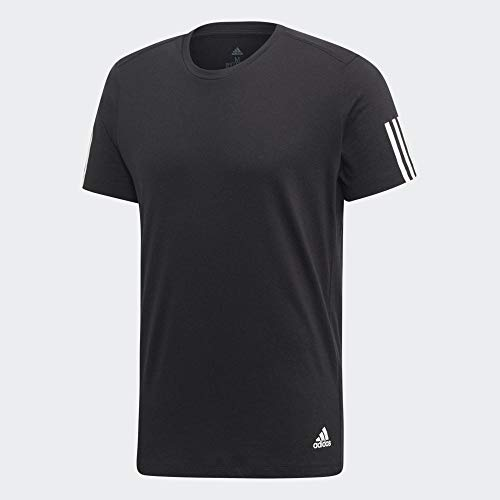 adidas Run IT Tee Soft T-Shirt Homme, Black, FR : S (Taille Fabricant : S)