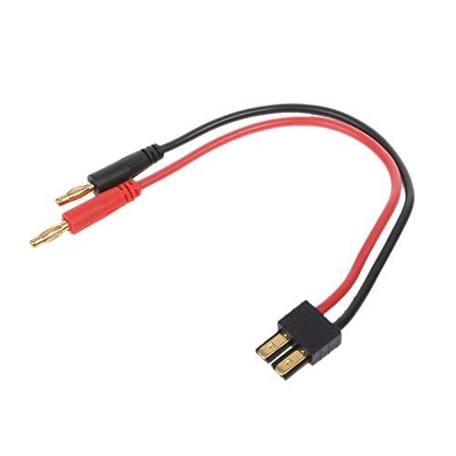 JEOSNDE 14 AWG Cargador de batería Cables de Alta Corriente Macho a 4 mm de Bala Banan
