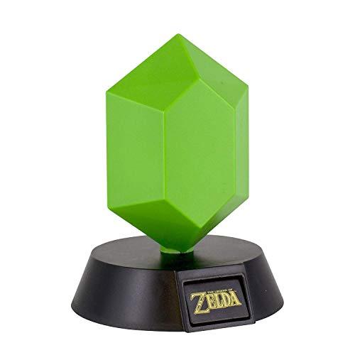 Paladone The Legend of Zelda Green Rupee 3D Leuchte Icon Light