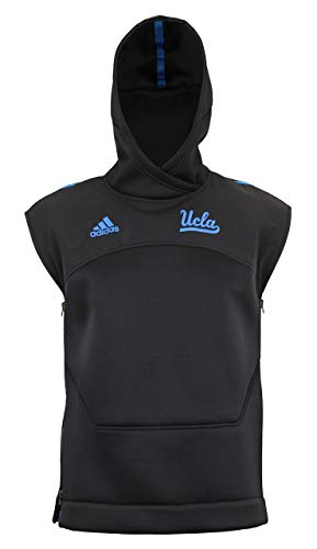 adidas Damen Ucla Bruins Shooter Sleeveless Hoodie schwarz, Damen, schwarz, Medium