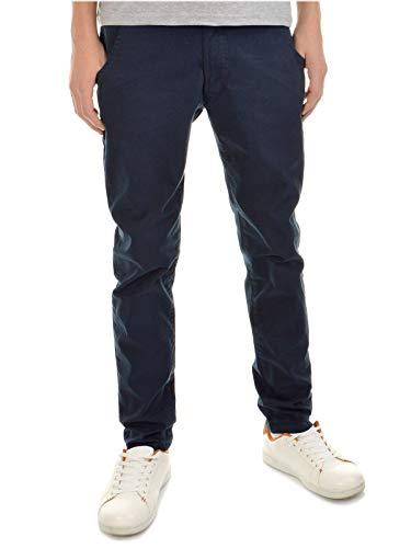 BEZLIT Kinder-Hose Jungen-Hose Chino-Hose Röhre-Hose Straight Fit Stretch RX 22871 Blau 152