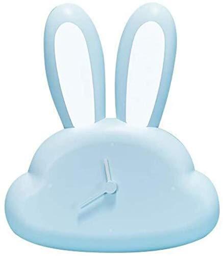 Konijn inductie kloklamp, nachtkastje lichaam inductie nachtlampje opladen schattig konijn cartoon met kloklamp voor volwassenen, kinderen, slaapkamer