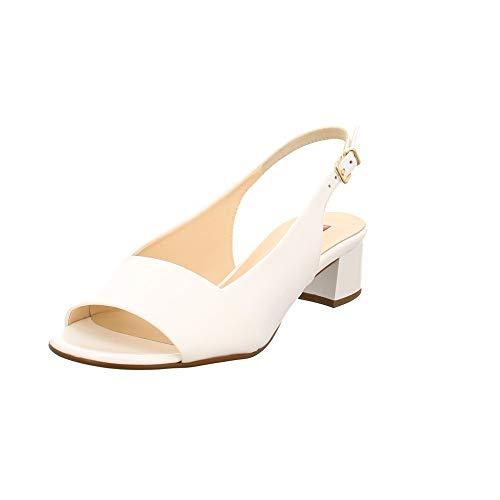 HÖGL Damen Sandaletten Weiße Lacksandalette 5-102104-0200 weiß 699281