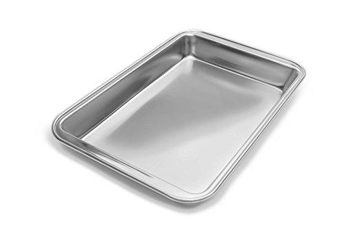 Fox Run Stainless Steel Baking Pan, 11-Inch x 7-Inch Surface