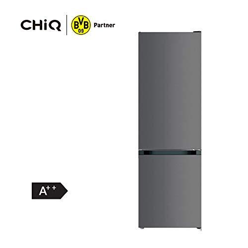 CHiQ FBM157L42 Freistehender Kühlschrank mit Gefrierfach 157L | Kühl-Gefrierkombination | Low-frost | 144 x 47 x 49,2 cm (HxBxT) | Ultraleise 38 db | 12 Jahre Garantie auf den Kompressor*