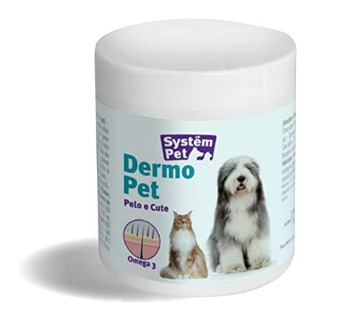 Dermo Pet para Mejorar el Aspecto del Pelo y la Piel, 100 Pastillas, Peso Neto 130 g