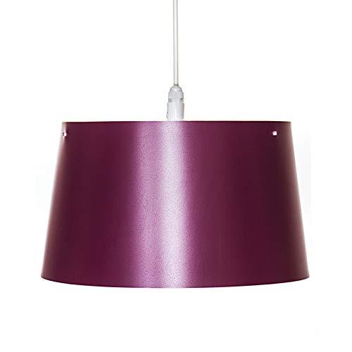 Preisvergleich Produktbild Hochwertige Pendelleuchte Hängeleuchte (Violett),  IP44 für Innen & Außen,  Balkon & Terrasse,  Badezimmer & Sauna,  oder einfach als schönes Wohnaccessoire!! Ca. 20 cm Höhe,  Ø 35 cm,  ca. 5 m Zuleitung. Deckenleuchte,  Lampe,  Leuchte