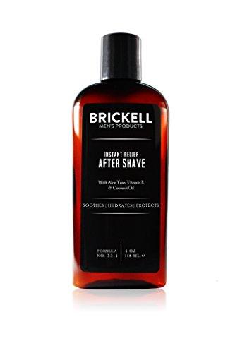 Brickell Men's Products – Loción para Después de Afeitar Alivio Instantáneo para Hombres - Natural y Orgánica – 118 ml