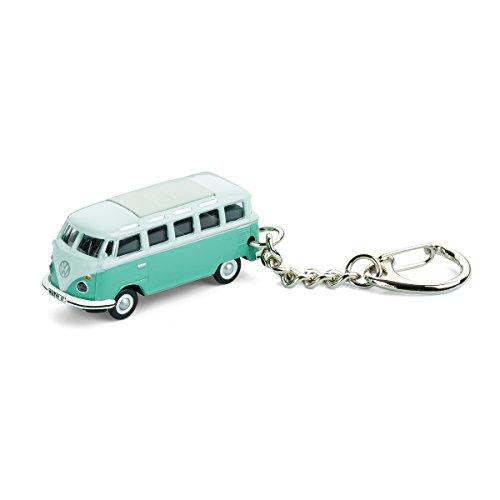 corpus delicti :: Schlüsselanhänger mit VW Bus T1 Samba Bulli türkis Modellauto für alle Auto- und Oldtimerfans (20.9-33)