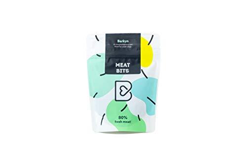 Barkyn chuches de Carne para Perros - Un Snack 100% Natural, con 80% de Carne Fresca, sin Cereales - Premios para Perro Entrenamiento 60 gr