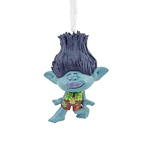 Hallmark Christmas Ornament, DreamWorks Trolls World Tour Branch