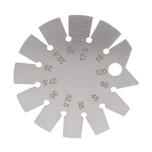Winkelmesser aus Edelstahl, Winkelmesser, Messbereich 15°-120°