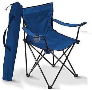 A&D Silla de Camping Plegable (Azul): Amazon.es: Deportes y ...
