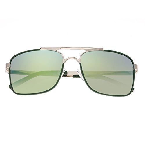 Breed Herren Sonnenbrille, BSG047SL, Silber, BSG047SL