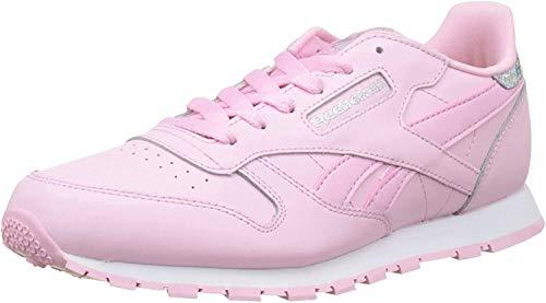 Reebok Mädchen Classic Leather Pastel Sneaker, Pink (Charming Pink/White), 35 EU